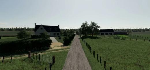 Photo of FS19 – A Little Corner Of Burgundy V1.0