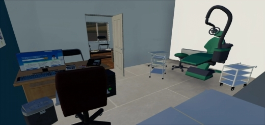 Photo of FS19 – Apartment With Doctor And Dentist V1.0