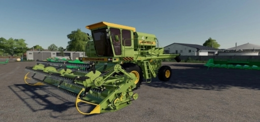 Photo of FS19 – Don 1500 B97 Harvester V1.0.0.2