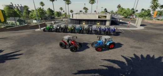 Photo of FS19 – Fendt 700 Tractor V1.0
