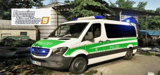 Photo of FS19 – Mercedes-Benz Sprinter Polizei Bayern V1.0