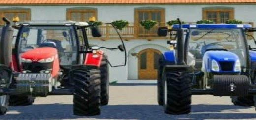 Photo of FS19 – New Holland T6000 Tractor V1.0