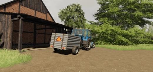 Photo of FS19 – Old Cattle Trailer V1.0.0.1