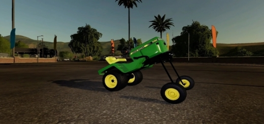Photo of FS19 – Squatted Lawn Mower V1.0