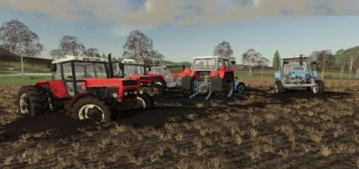 Photo of FS19 – Zetor Pack Urll 7511-16245 Turbo Tractor V1.0