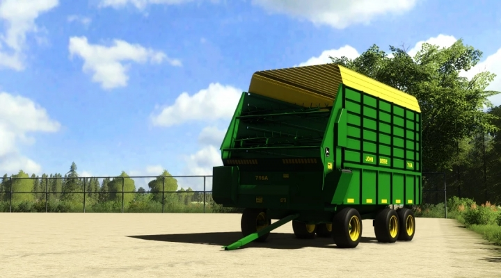 FS19 - John Deere 716A Forage Wagon V1.0