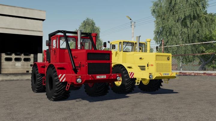 FS19 - Kirovets K-700A Pku V0.9.3.0