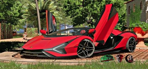 Photo of FS19 – Lamborghini Sian Roadster V1.0