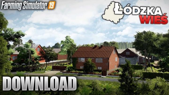 FS19 - Lodzka Wies Map V1.0