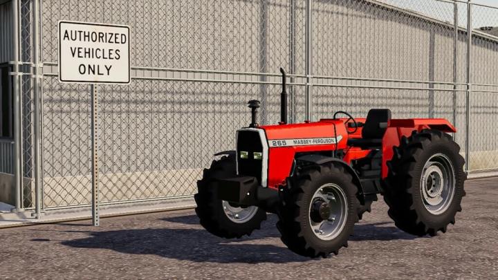 FS19 - Massey Ferguson 265 V1.2