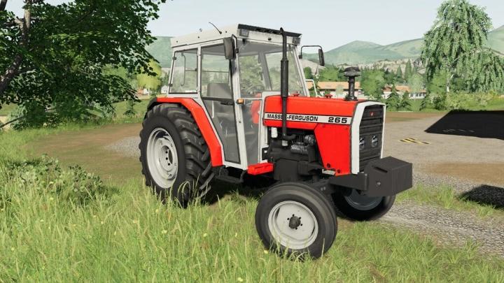 FS19 - Massey Ferguson 265 V1.3