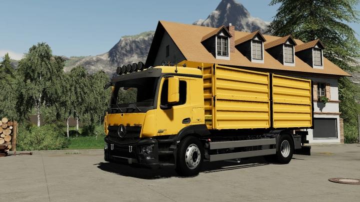 FS19 - Mercedes-Benz Antos Grain/Overloader V1.0