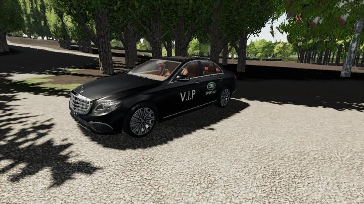 FS19 - Mercedes Benz E-Class V1.0