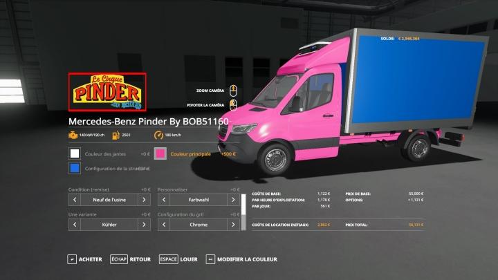 FS19 - Mercedes-Benz Pinder V1.0