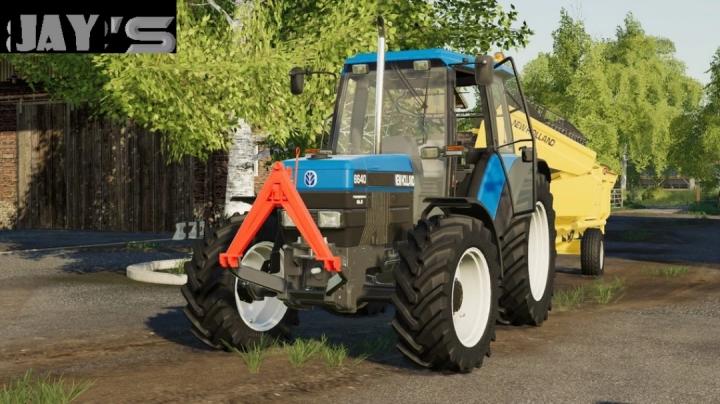 FS19 - New Holland 40 4Zyl Series V1.0