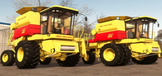Photo of FS19 – New Holland Tr 5 And 6 Series V1.0