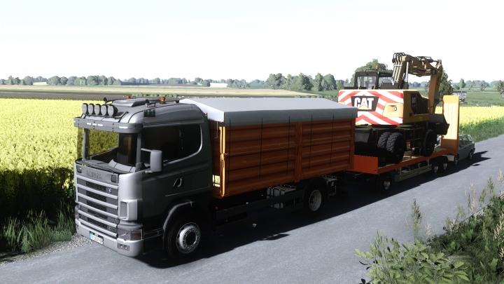 FS19 - Scania 124 R Grain/Overloader V1.0