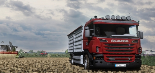 Photo of FS19 – Scania R Grain/Overloader V1.0