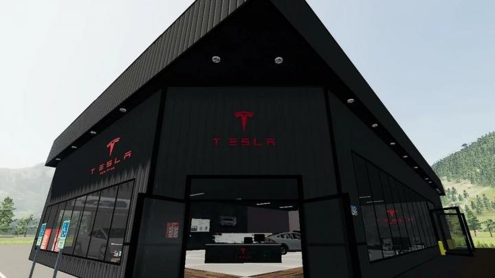 FS19 - Tesla Showroom V1.0