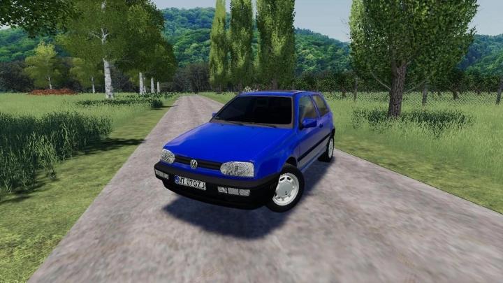 FS19 - Volkswagen Golf Iii V1.0