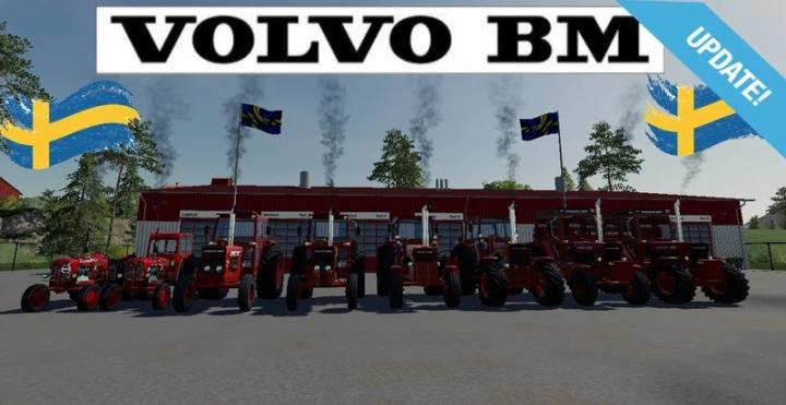 FS19 - Volvo Bm Pack Senaste/Last 3 V1.0.0.1