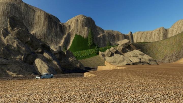 FS19 - Wasteland Map V1.0