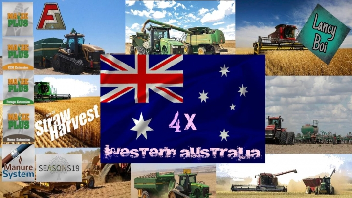 FS19 - Western Australia (Farming Agency Edition) V1.0