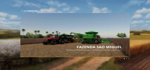 Photo of FS19 – Fazenda Sao Miguel V1.0