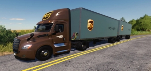 Photo of FS19 – Freightliner Cascadia P4 Day Cab V1.0