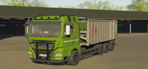 Photo of FS19 – Man Fliegl Truck V1.0