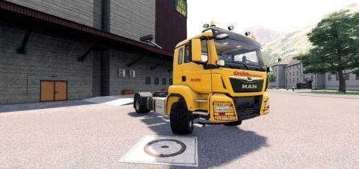 Photo of FS19 – Man Tgs 18.500 4X4 Deuka Truck V1.0