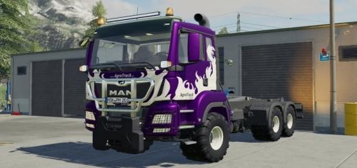 Photo of FS19 – Man Tgs26500 Truck V1.0