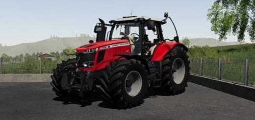 Photo of FS19 – Massey Ferguson 7700S Tractor V1.0