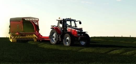 Photo of FS19 – New Holland Fp Pack + Meyer Forage Boxes V1.0