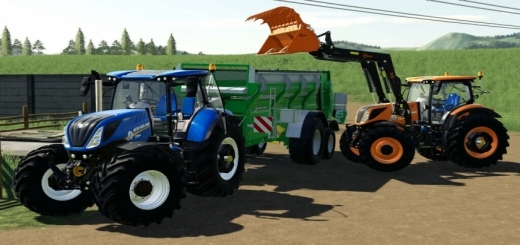 Photo of FS19 – New Holland T7 Series V1.5