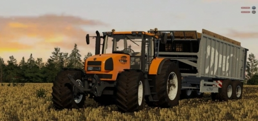 Photo of FS19 – Renault Ares 836Rz Tractor V1.0