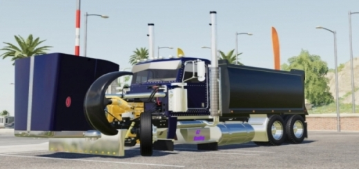 Photo of FS19 – Rogue 389 Transfer Truck V1.0.0.3