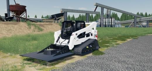 Photo of FS19 – Skid Steer Mower V1.0