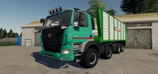 Photo of FS19 – Tatra Phoenix 8X8 Truck V3.0