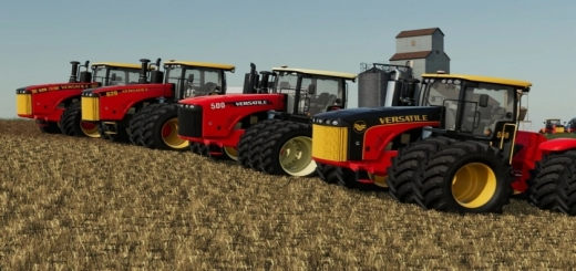 Photo of FS19 – Versatile 4Wd Tractors V1.1.0.1