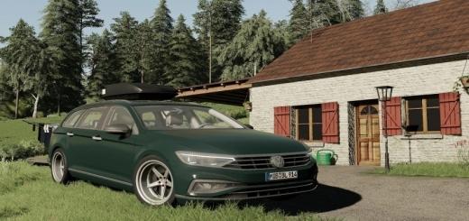 Photo of FS19 – Volkswagen Passat B8 V1.0